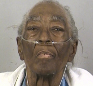 "Eighty-year-old Annie Oliver killed her husband by cutting him with a knife and hitting him in the head with a baseball bat. She claims it started when he hit her hand and began ""talking smart."""