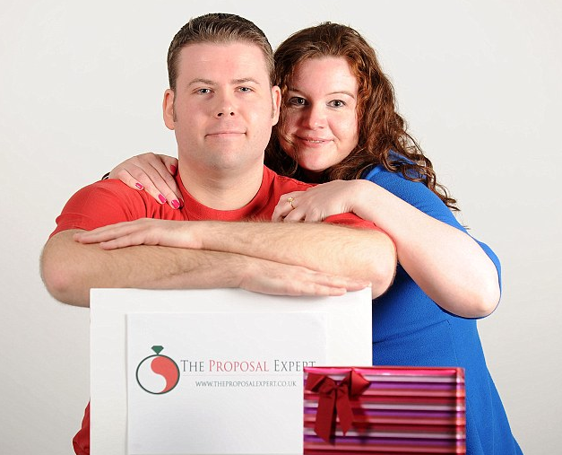 Sam Sheppard founded The Proposal Expert, a wedding proposal planning service in response to her boyfriend's failed wedding proposal that she says was like being asked out for pizza.