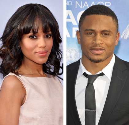 Kerry Washington says shes blessed in all areas of her life following her secret marriage.
