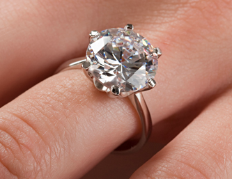A New York Man broke up with his fiancee via text a judge awarded her the 53000 dollar engagement ring. www.idateDaily.com